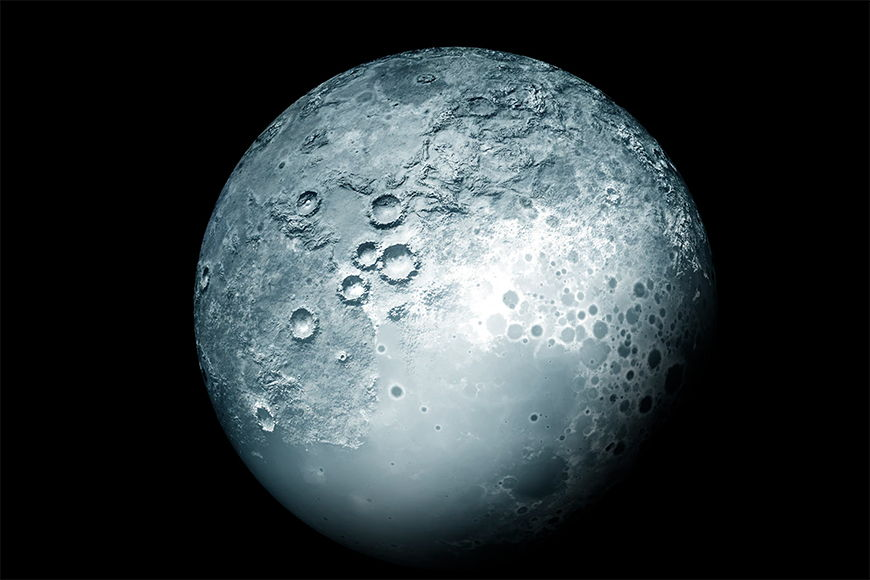 Vliestapete Der Planet ab 120x80cm