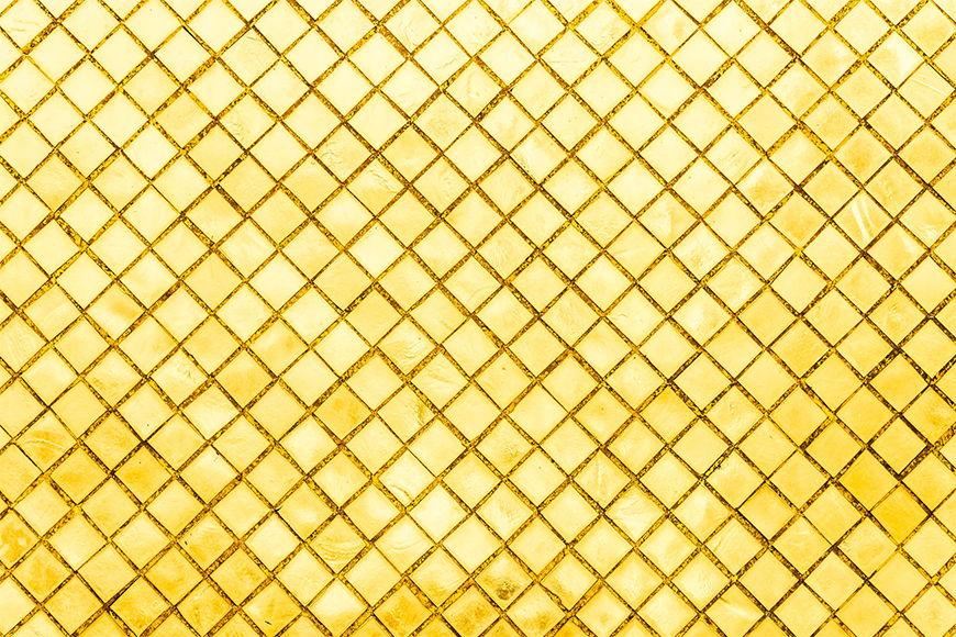 Vliestapete Goldenes Mosaik ab 120x80cm