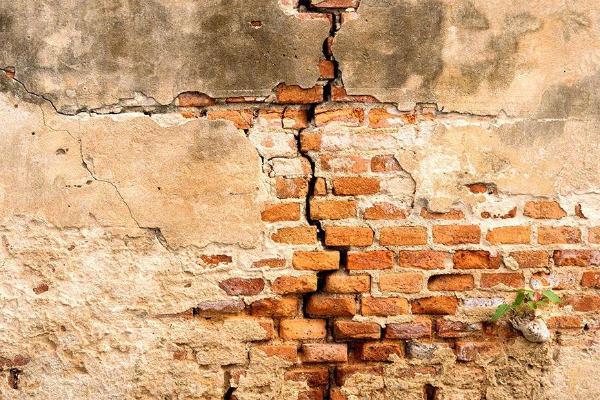 Vliestapete Ziegelmauer ab 120x80cm