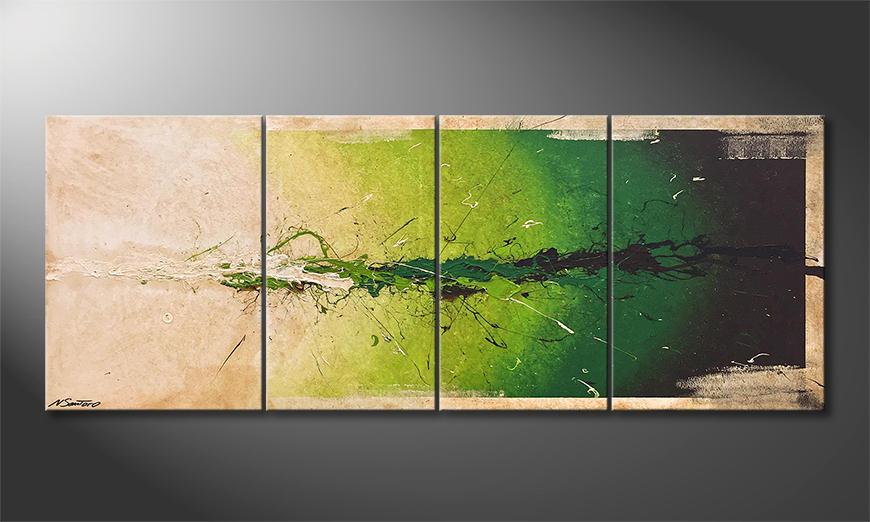 Das Wandbild Moment Of Hope 180x70x2cm