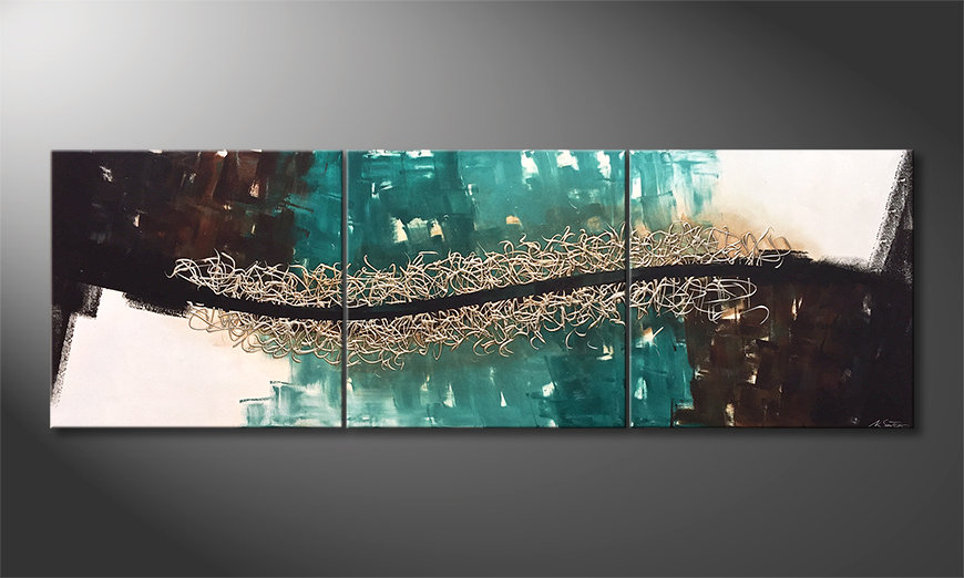 Das Wandbild Out Of The Depth 240x80cm