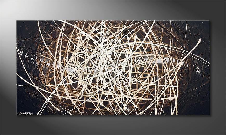 Das Wandbild Power Of Earth 140x70x2cm