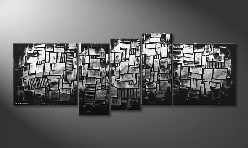 Das Wandbild Rise Up 210x80x2cm