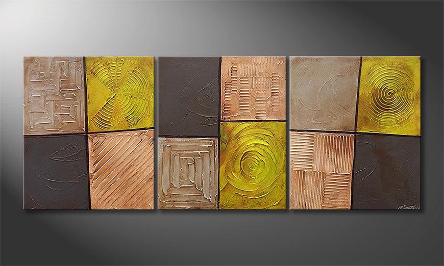Das Wohnzimmerbild Moods Of Earth 180x70x2cm