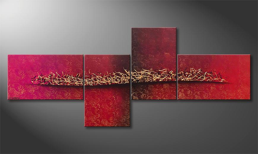 Das exklusive Bild Golden Melody 260x110x2cm
