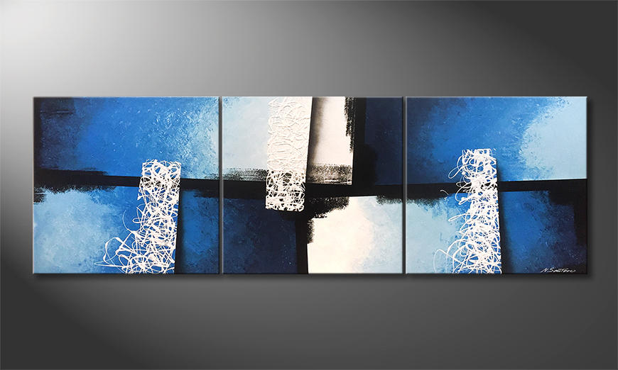Das exklusive Bild Light Fountains 210x70x2cm