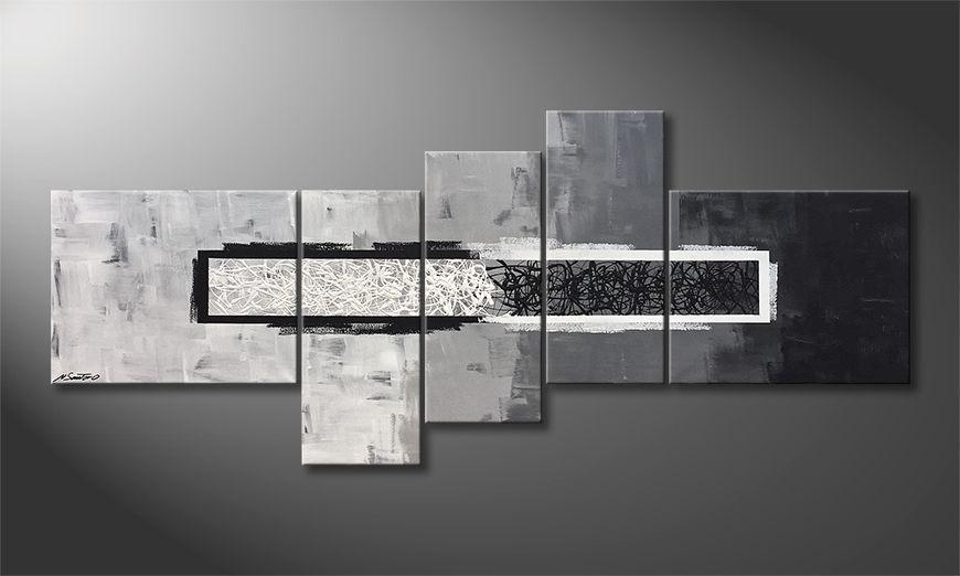 Das exklusive Bild Light vs. Shadow 210x90x2cm