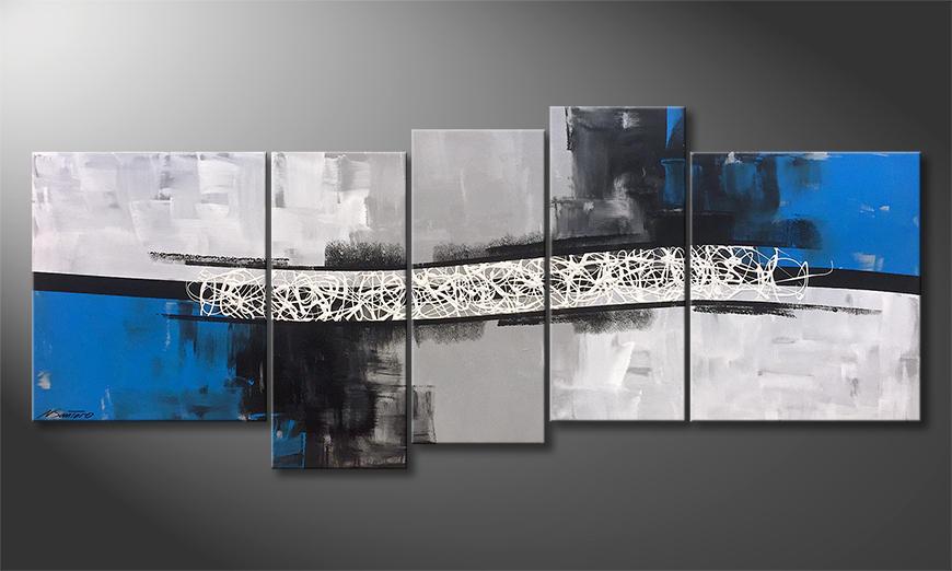 Das moderne Bild Switched Horizon 190x80x2cm