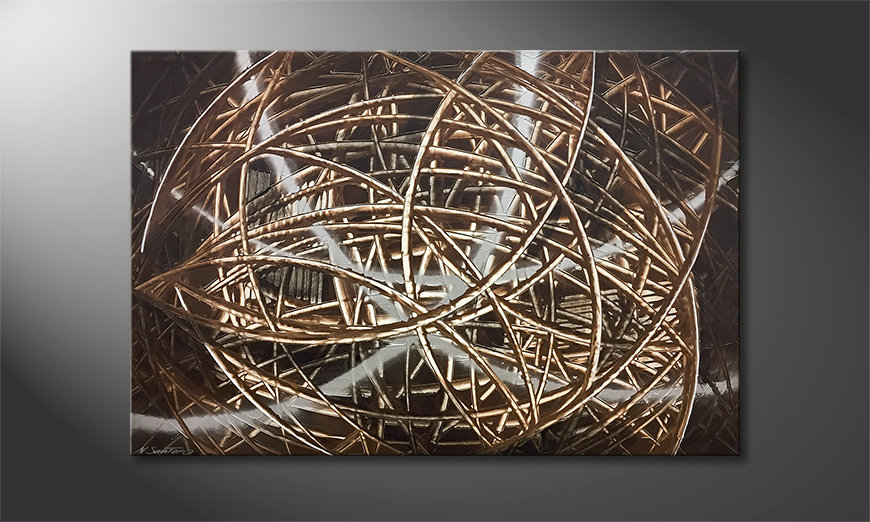 Das moderne Bild Underwood 120x80x2cm