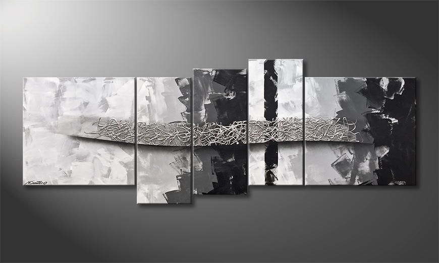 Das moderne Wandbild Beyond That 210x80x2cm