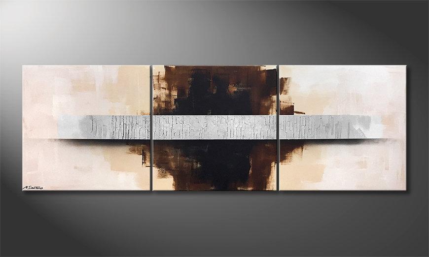 Das moderne Wandbild Clear Vision 210x70x2cm