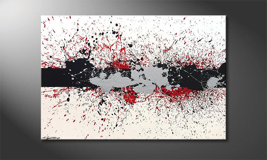 Das schöne Bild Blow The Boundaries 120x80x2cm