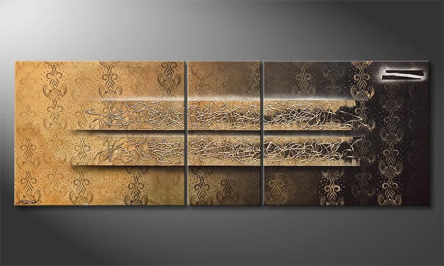 Das schöne Bild Shinning Gold 220x80x2cm