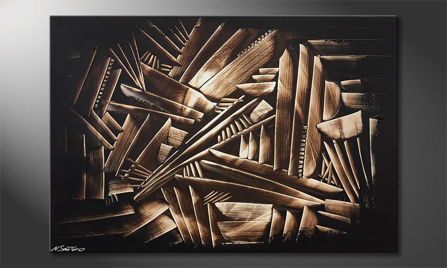 Das schöne Bild Wooden Construct 120x80x2cm