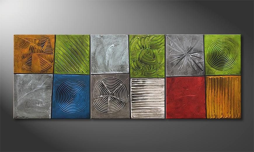 Unser Wandbild All Natural 180x80x2cm