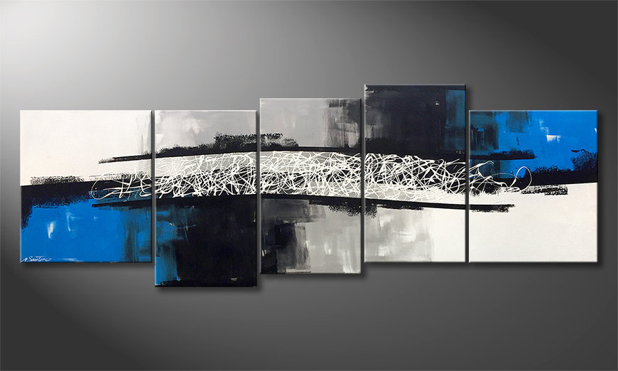 Unser Wandbild Between The Seasons 220x80x2cm