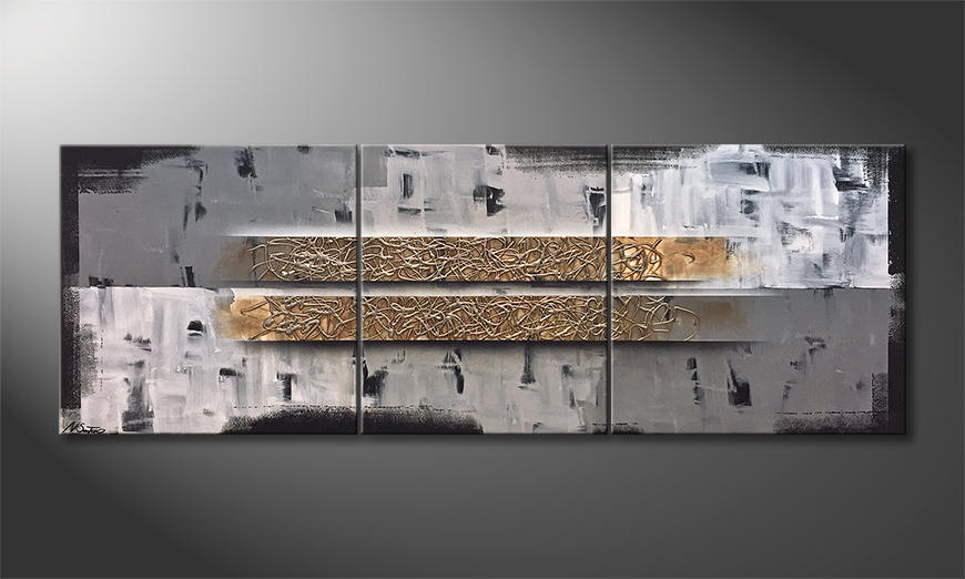 Unser Wandbild Clear Confusion 200x70x2cm