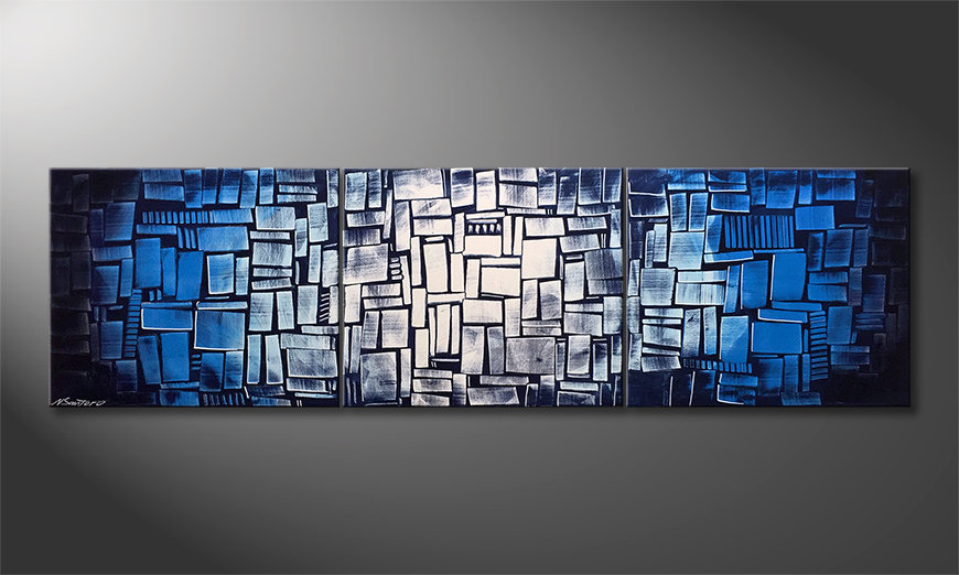 Unser Wandbild Emersion 210x60cm