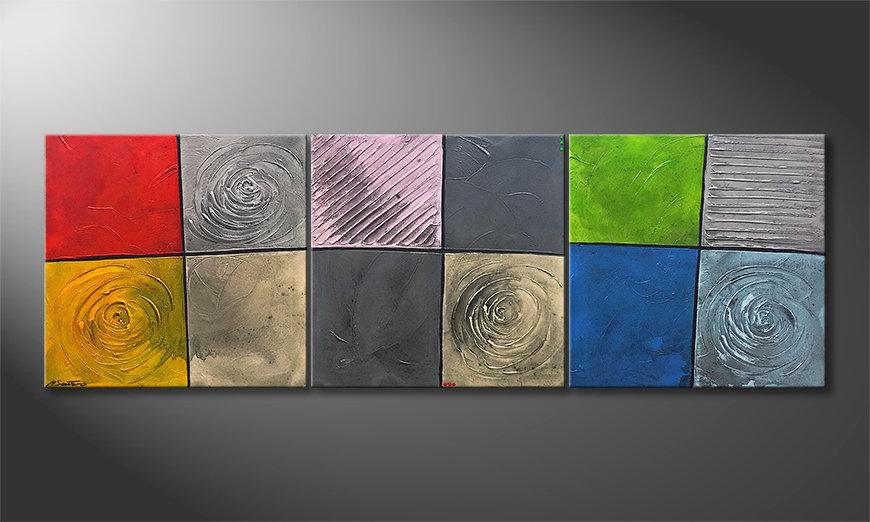 Unser Wandbild Landscapes 210x70x2cm