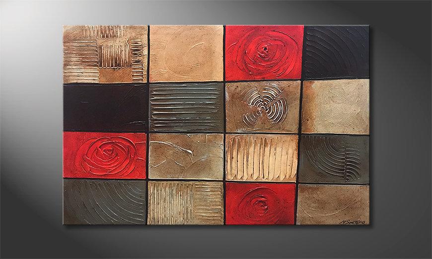 Unser Wandbild Natural Contrasts 120x80x2cm