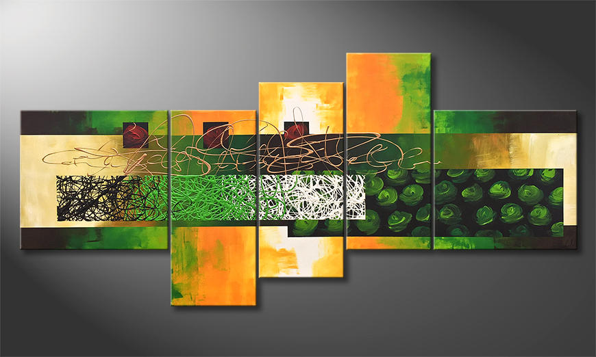 Unser Wandbild Wonders Of Nature 190x90x2cm