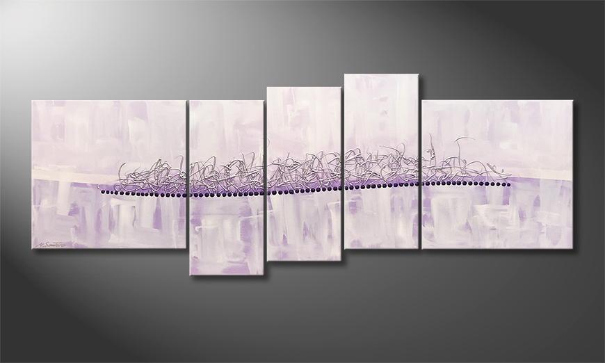 Vom Künstler: Blurred Dream 210x80x2cm