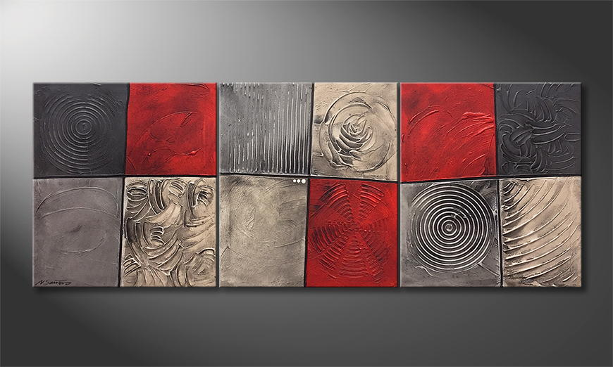 Vom Künstler: Emotional Moments 180x70x2cm