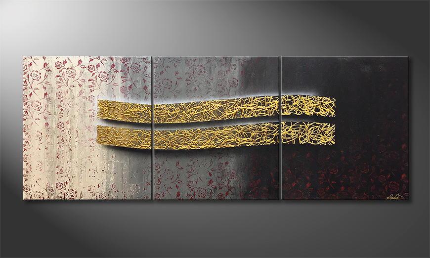 Vom Künstler: Whisper Of Roses 210x80x2cm