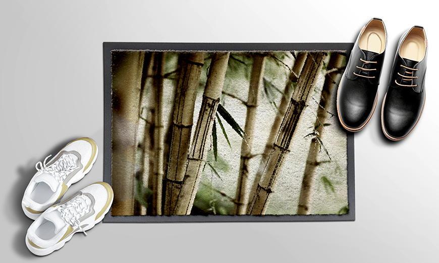 Ihre neue Fußmatte Bamboo Forest