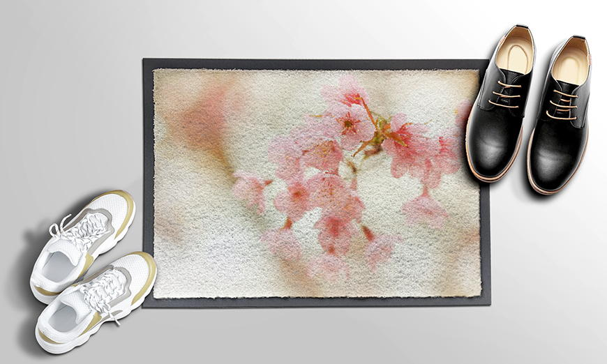 Nur hier: Fußmatte Cherry Blossoms